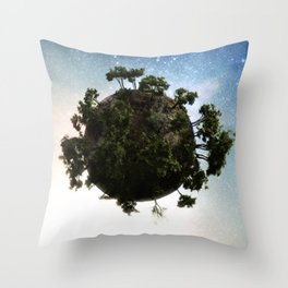 little big planet Throw Pillow