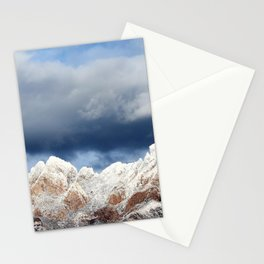 Desert Mountains with Snow-Barbara Chichester Stationery Cards