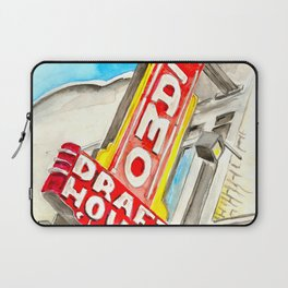 Alamo Drafthouse watercolor Laptop Sleeve