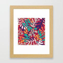 Matisse Pattern 009 Framed Art Print