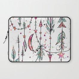 Bohemian Pink and Aqua Laptop Sleeve