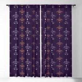 Metaphys Moths Blackout Curtain