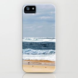 Nobbys Beach iPhone Case