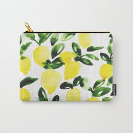 Summer Lemons Carry-All Pouch