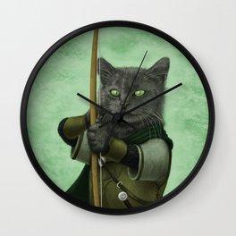 Ranger Cat Wall Clock