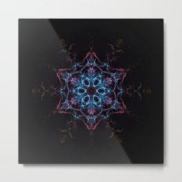 Star Birth Mandala Metal Print
