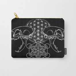 Sacred Skull Carry-All Pouch