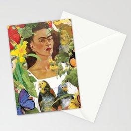 Frida Kahlo Collage Stationery Cards