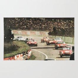 Le Mans poster, 1964, 24hs Le Mans, original vintage poster Rug