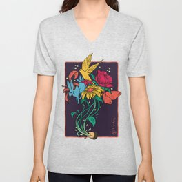 Seeds of Inspiration Unisex V-Neck