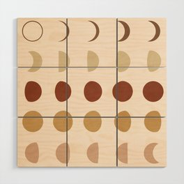 Flow of the Phases Wood Wall Art