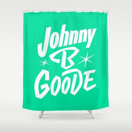 Sing With Us Johnny B. Goode Shower Curtain