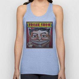 Freak Show- Funny Face Unisex Tank Top