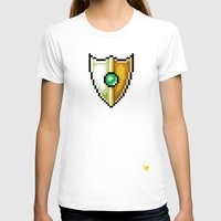shield T-shirts featuring Shield by HOVERFLYdesign