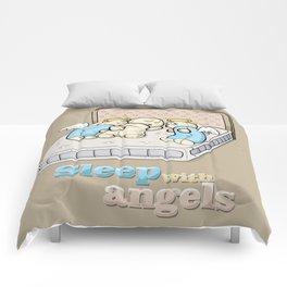 Sleep with angels Comforters