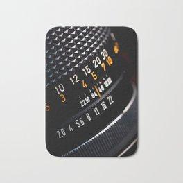 Photography Lens Detail Bath Mat
