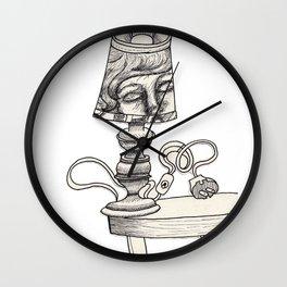 Three Sleepers - Lamp Wall Clock