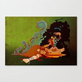 Calypso the Voodoo Priestess  Canvas Print