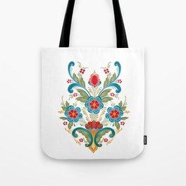 Nordic Rosemaling Tote Bag