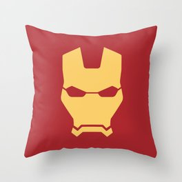 Iron man superhero Throw Pillow