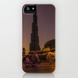 Burj Khalifa sunset iPhone Case