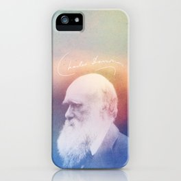 Heart Of Stone. Darwin. 1809-1882. iPhone Case