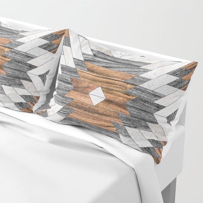 Urban Tribal Pattern No.8 - Aztec - Wood Kissenbezug