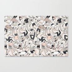Sleep Patterns Canvas Print