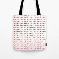 guns Tote Bags featuring Guns by Abdelati Dinar