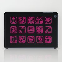 writing iPad Cases featuring Maya Writing System by Stop::mashina ~Runes