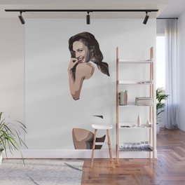 Whiteout Wall Mural