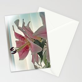 Muscadet Lily Stationery Cards