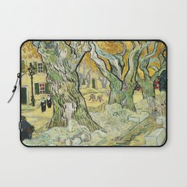 The Road Menders by Vincent van Gogh Laptop Sleeve