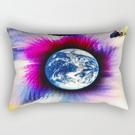 WORLD TURNS Rectangular Pillow