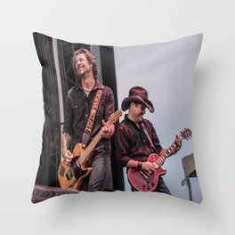 Roger Clyne and the Peacemakers shower curtain Throw Pillow