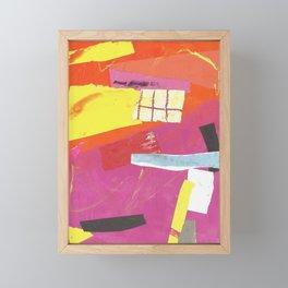 color response Framed Mini Art Print