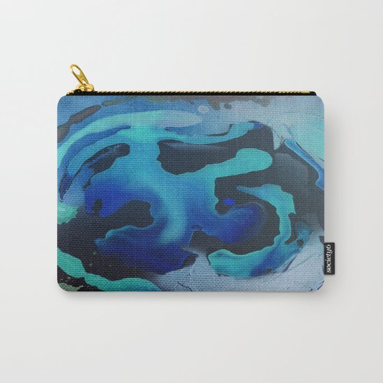 Swim with the Mermaids in the Great Natural Deep Blue Sea Carry-All Pouch