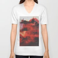 passion V-neck T-shirts featuring Passion by Wis Marvin