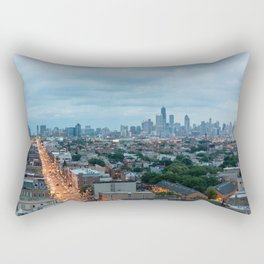 Chicago from The Robey Rectangular Pillow