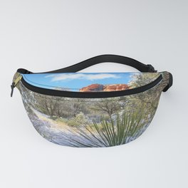 Sedona Winter  by Reay of Light Fanny Pack
