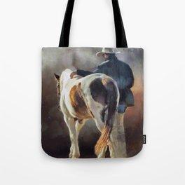 Cowboy Blues Tote Bag