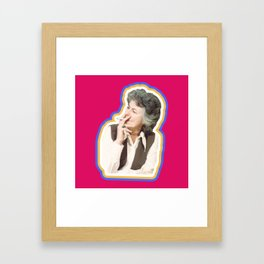 Bea is for Best Framed Art Print