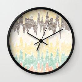 Digital painting Wall Clock