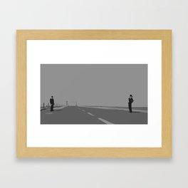 North by Northwest Framed Art Print