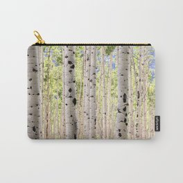 Dreamy Aspen Grove Carry-All Pouch