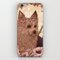 yorkie iPhone & iPod Skins featuring Yorkie by Angela Rizza