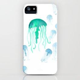 Waterolor Jellys iPhone Case