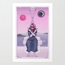 Two of Swords Art Print