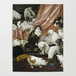 My Wife's Lovers - Carl Kahler Poster