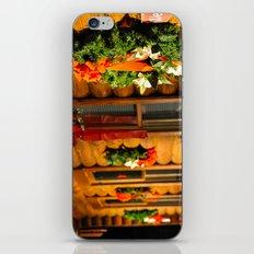 Log Cabin Christmas iPhone & iPod Skin